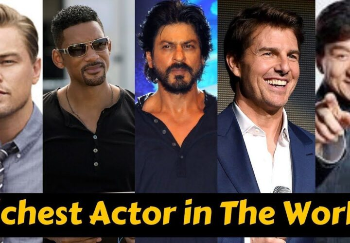 Who is the No 1 richest actor in the world?