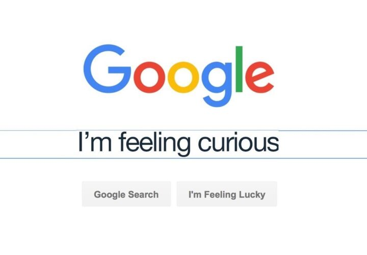 What happened to Google's I'm feeling curious?